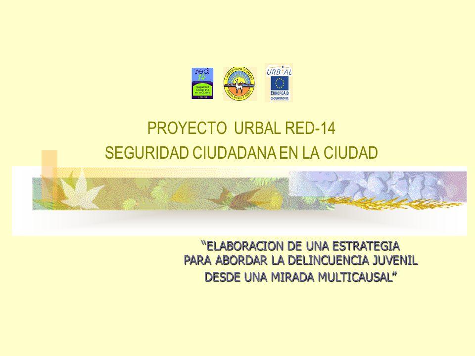 PROYECTO URBAL RED-14 SEGURIDAD CIUDADANA EN LA CIUDAD