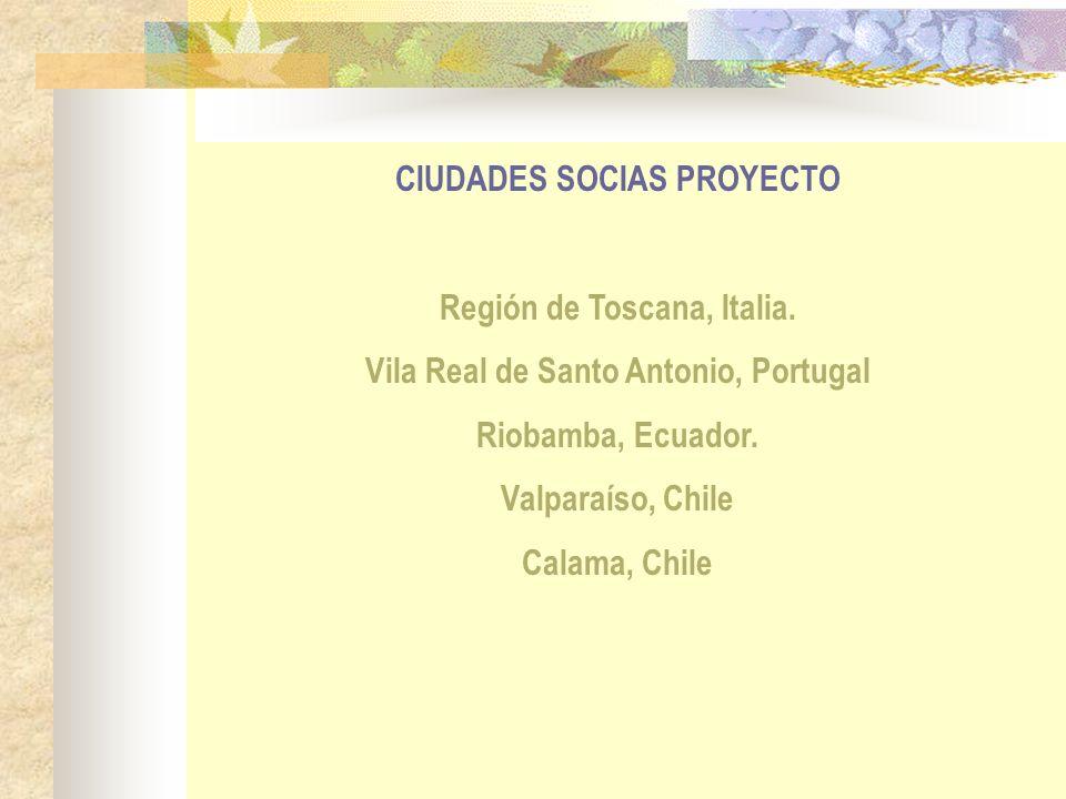 CIUDADES SOCIAS PROYECTO