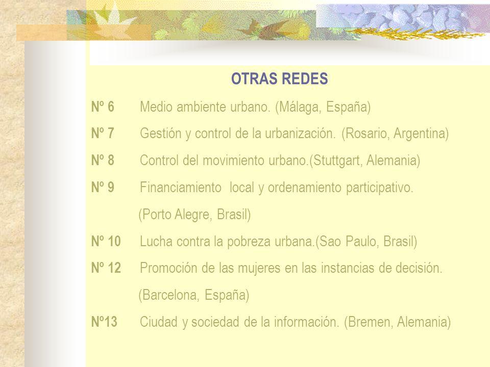 OTRAS REDES Nº 6 Medio ambiente urbano. (Málaga, España)