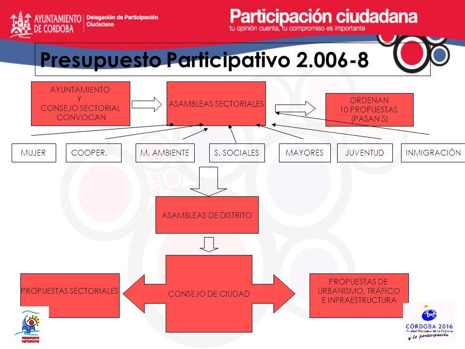 Presupuesto Participativo 2.006-8