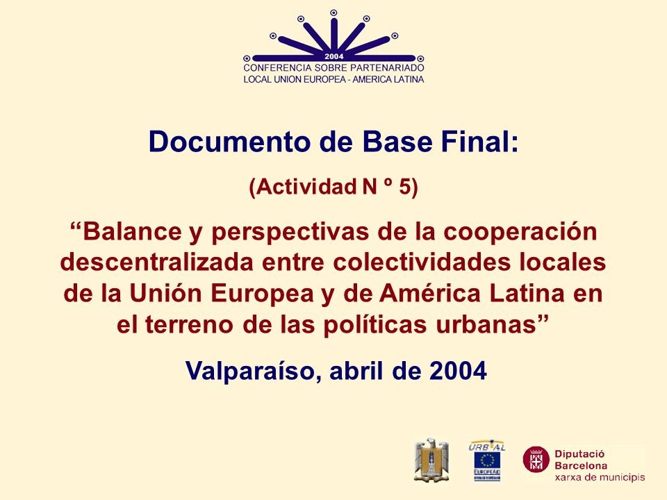 Documento de Base Final: