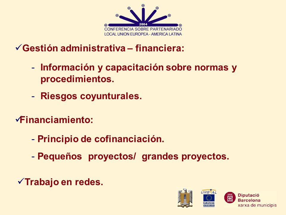 Gestión administrativa – financiera: