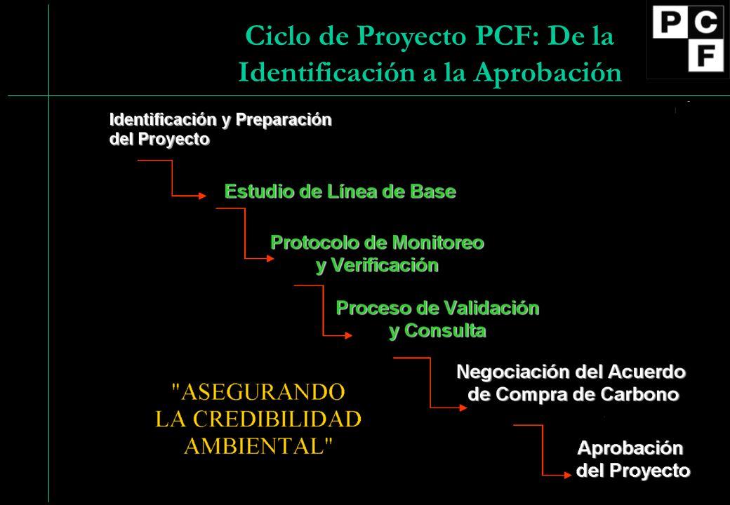 Ciclo de Proyecto PCF: De la Identificación a la Aprobación