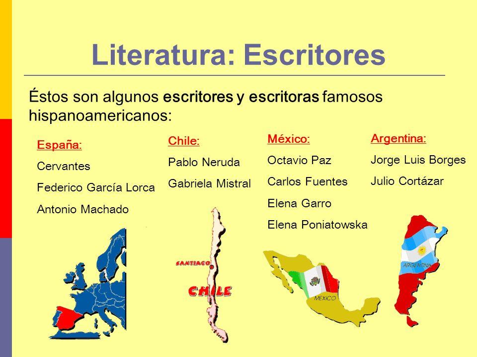 Literatura: Escritores