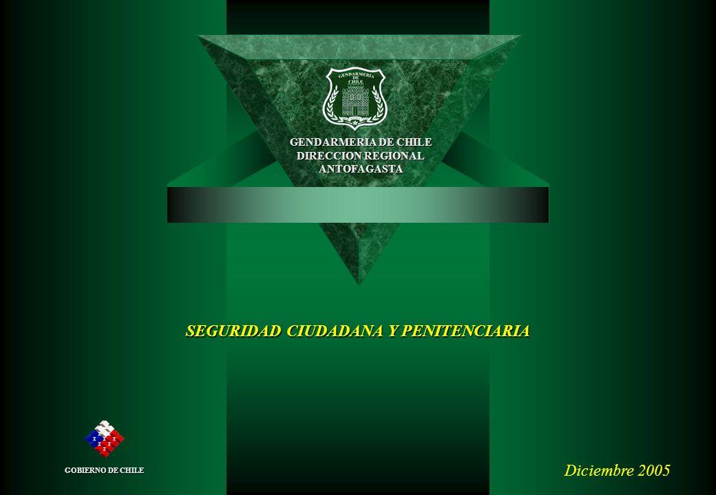 SEGURIDAD CIUDADANA Y PENITENCIARIA