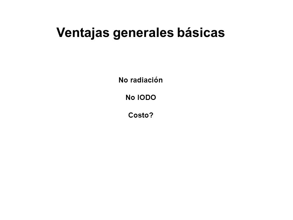 Ventajas generales básicas