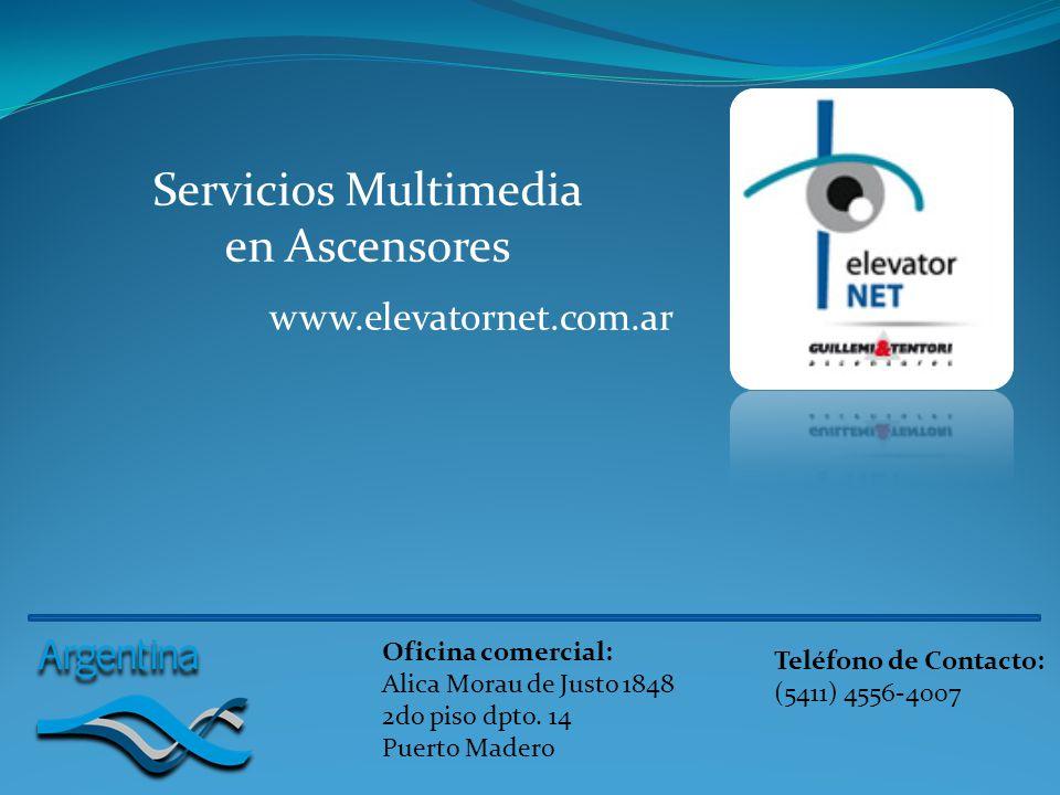 Servicios Multimedia en Ascensores
