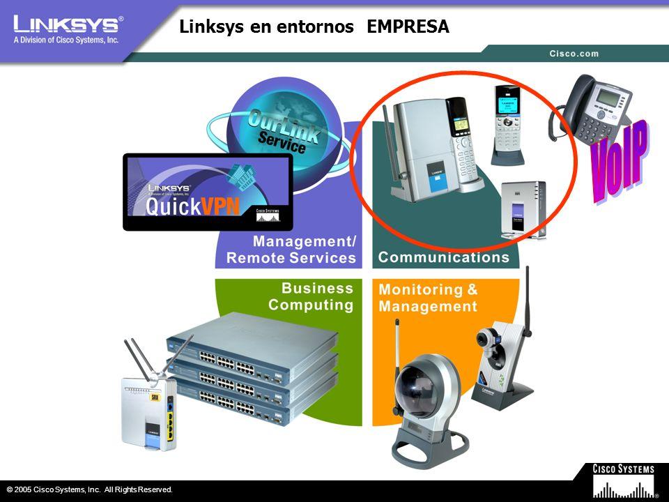 Linksys en entornos EMPRESA