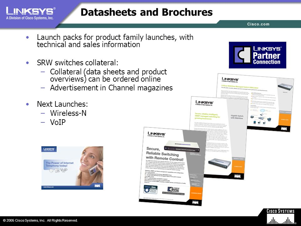 Datasheets and Brochures