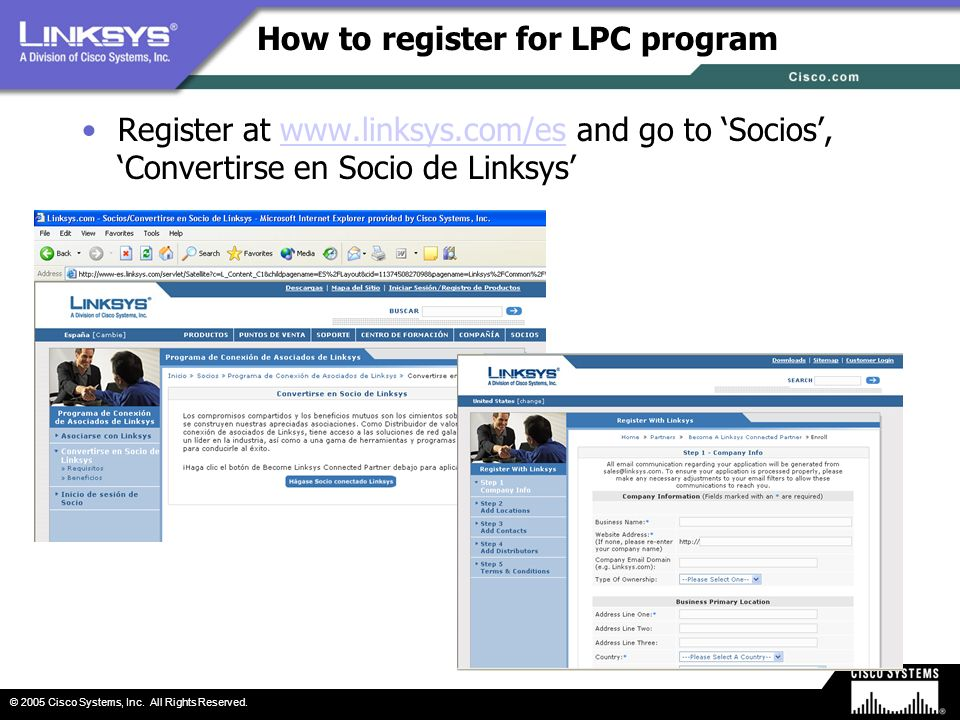 How to register for LPC program