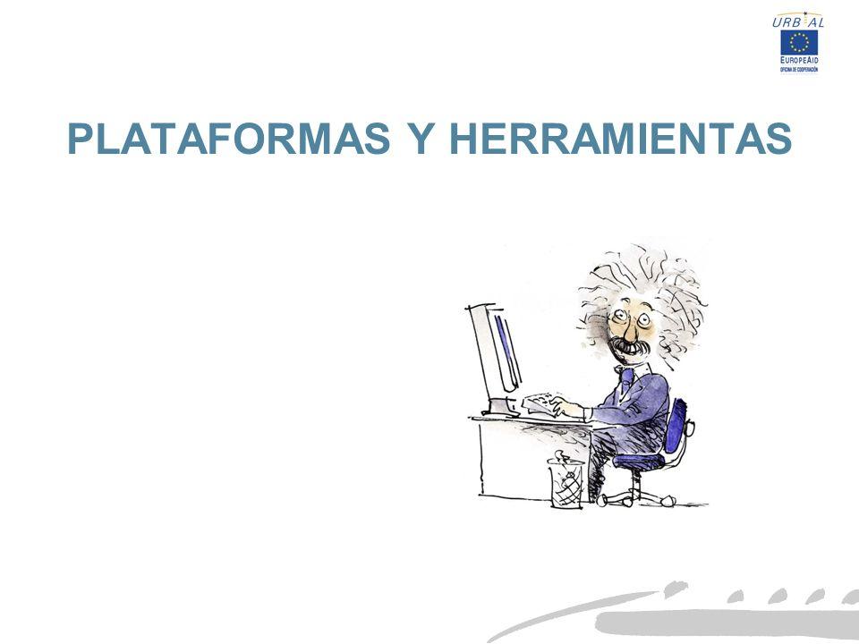 PLATAFORMAS Y HERRAMIENTAS