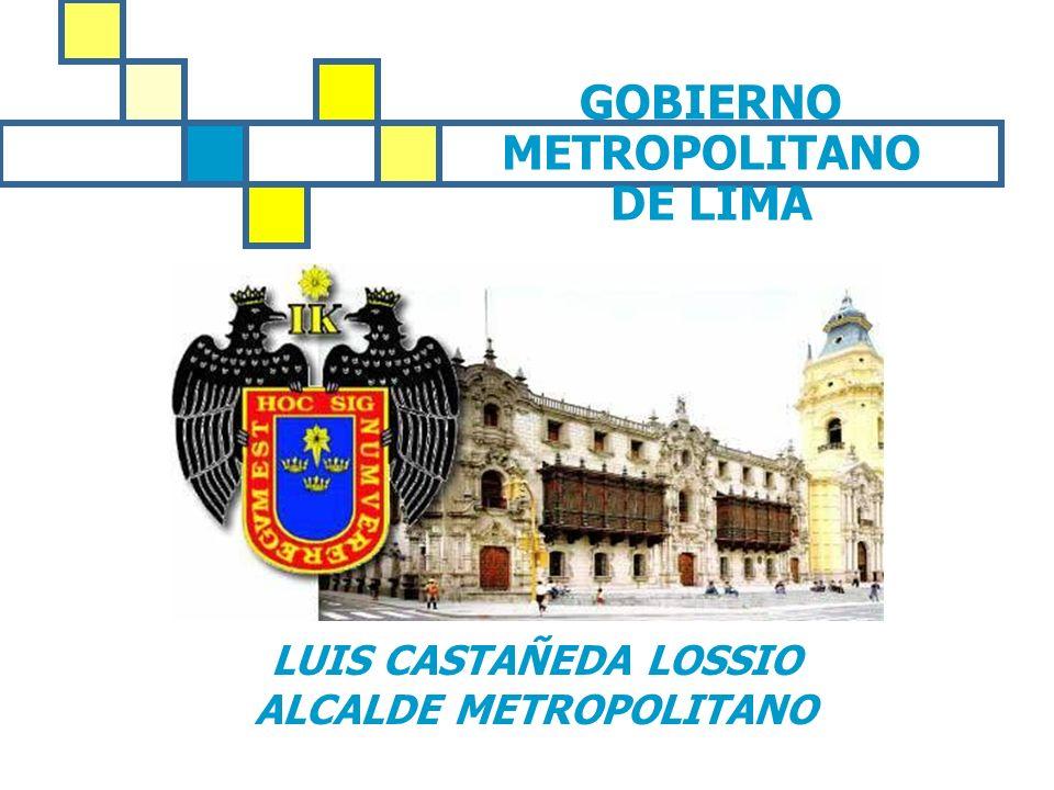 GOBIERNO METROPOLITANO DE LIMA