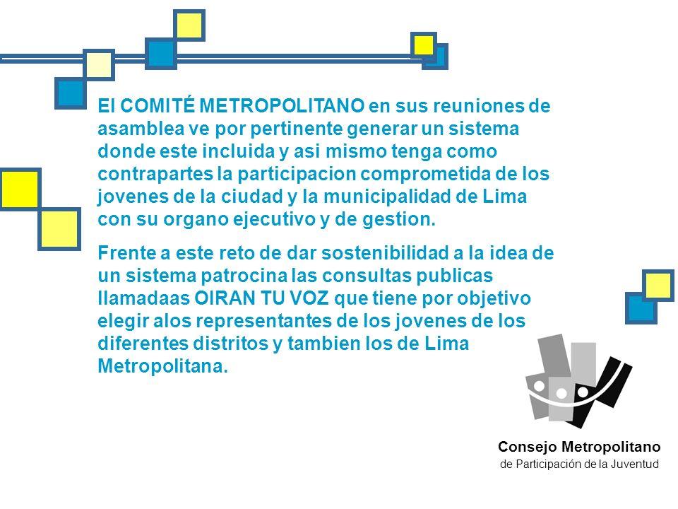 Consejo Metropolitano