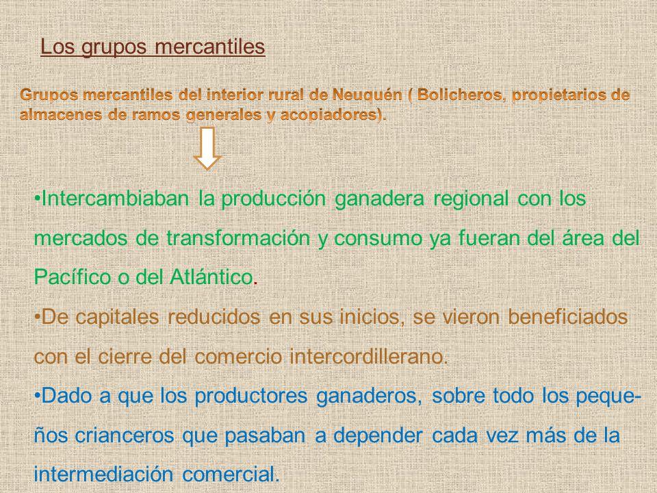 Los grupos mercantiles