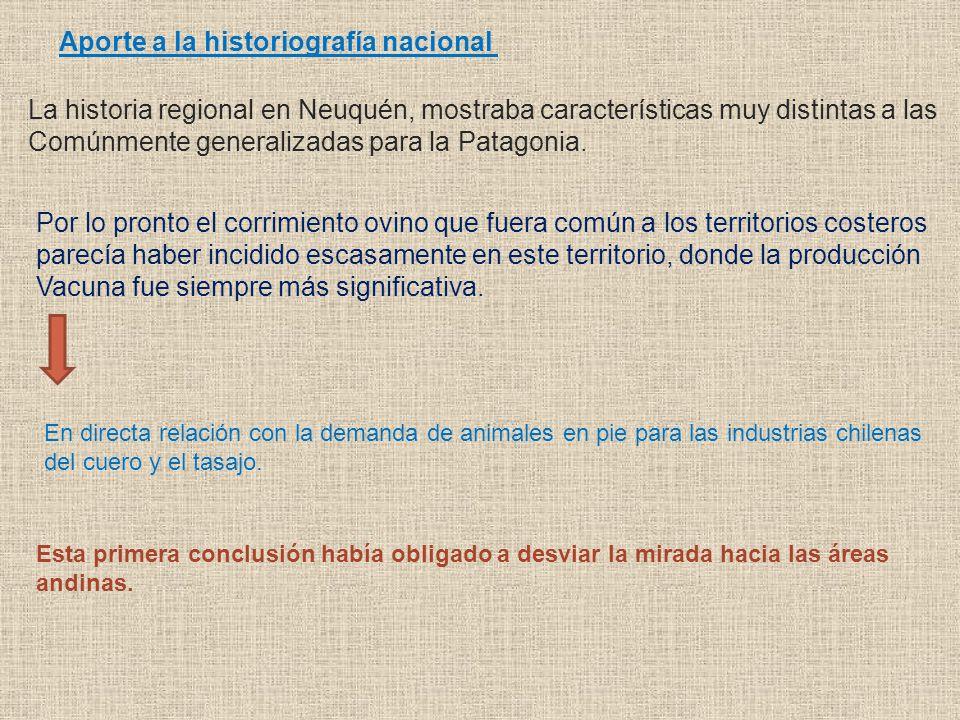 Aporte a la historiografía nacional