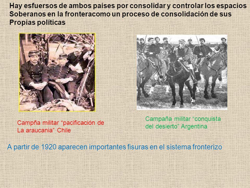 Hay esfuersos de ambos países por consolidar y controlar los espacios