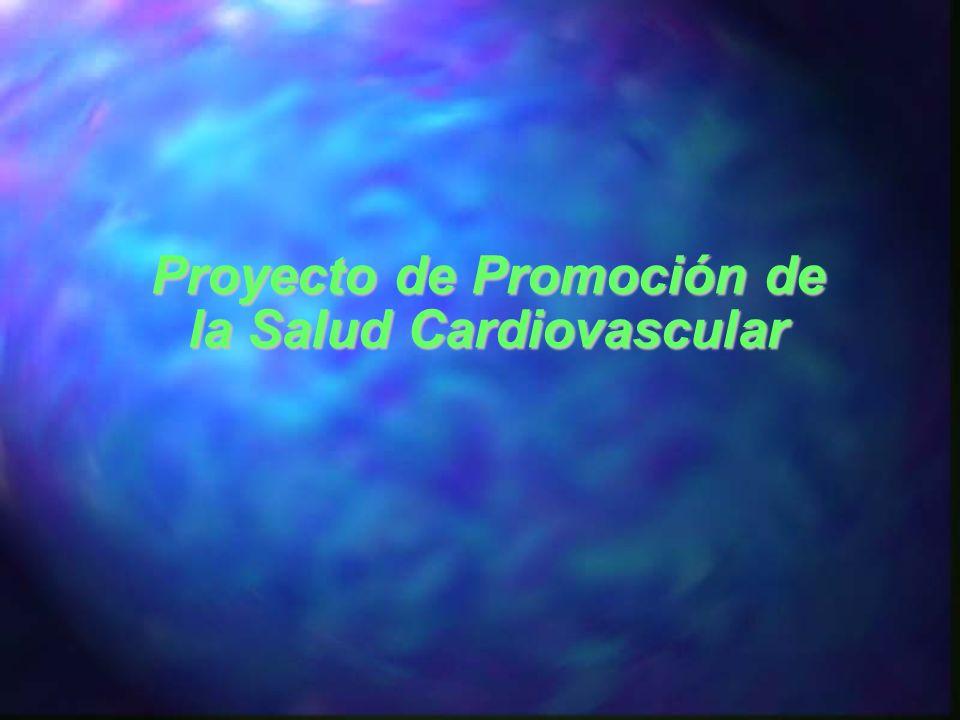 Proyecto de Promoción de la Salud Cardiovascular