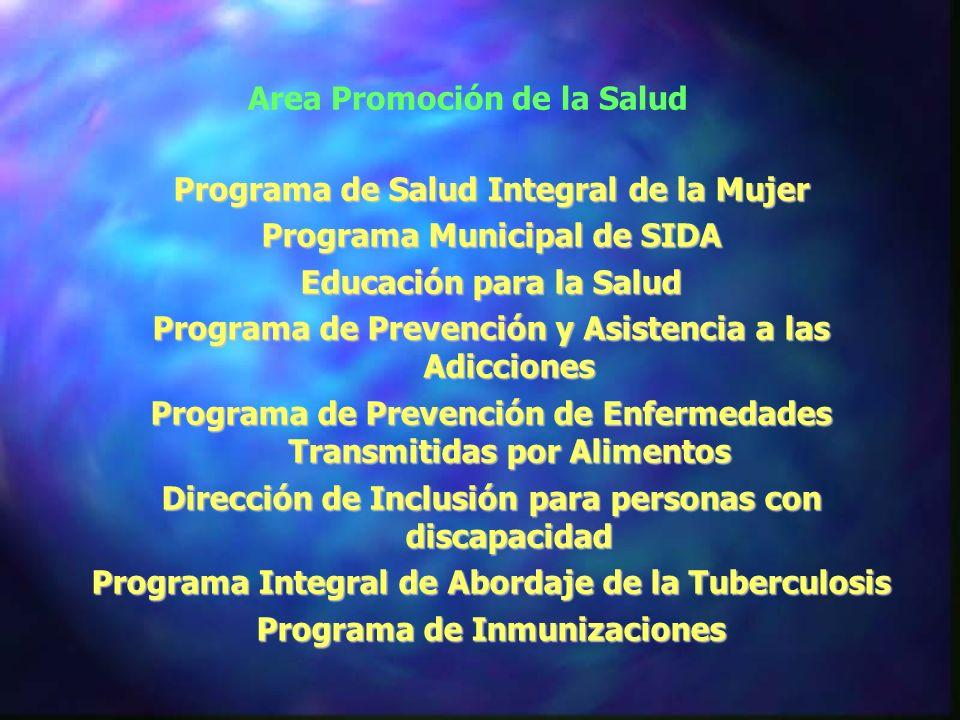 Area Promoción de la Salud