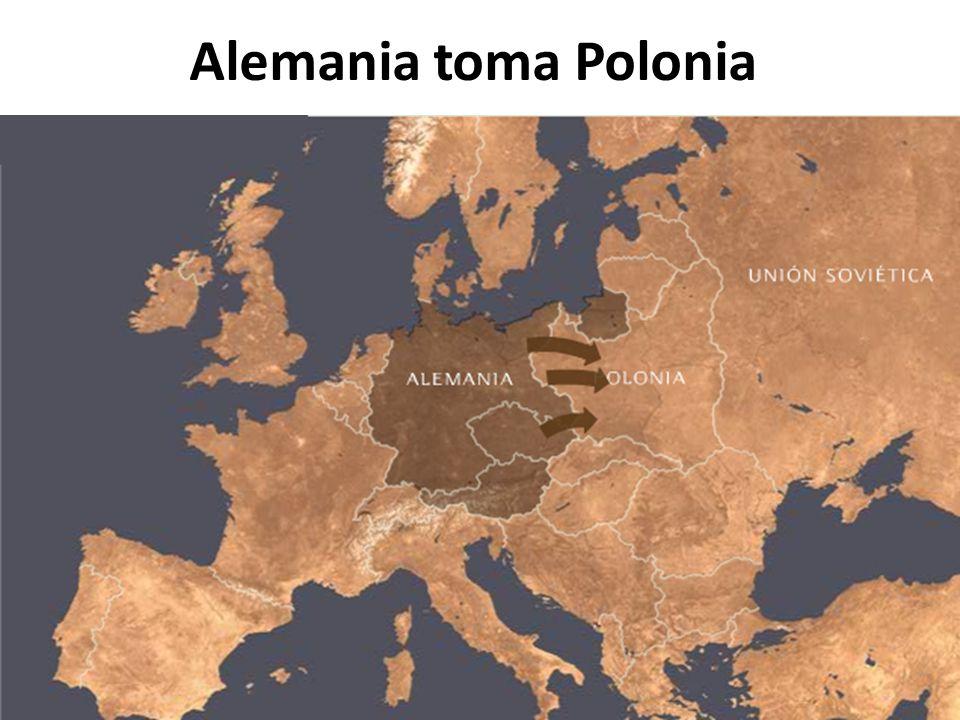 Alemania toma Polonia