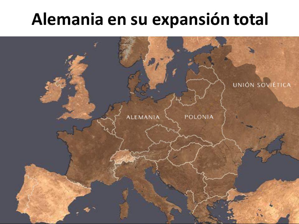Alemania en su expansión total