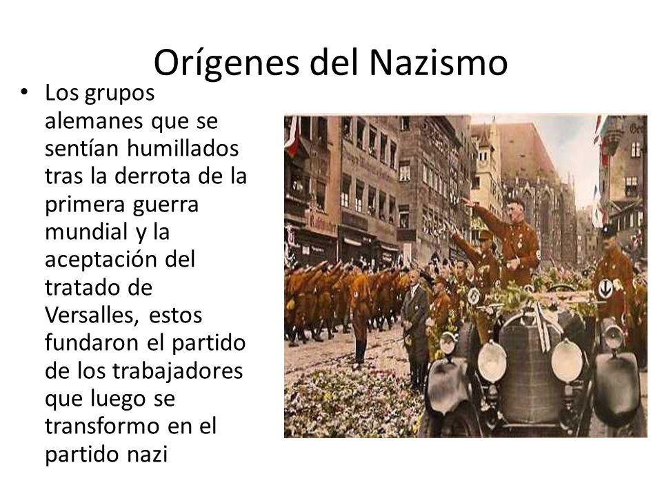 Orígenes del Nazismo