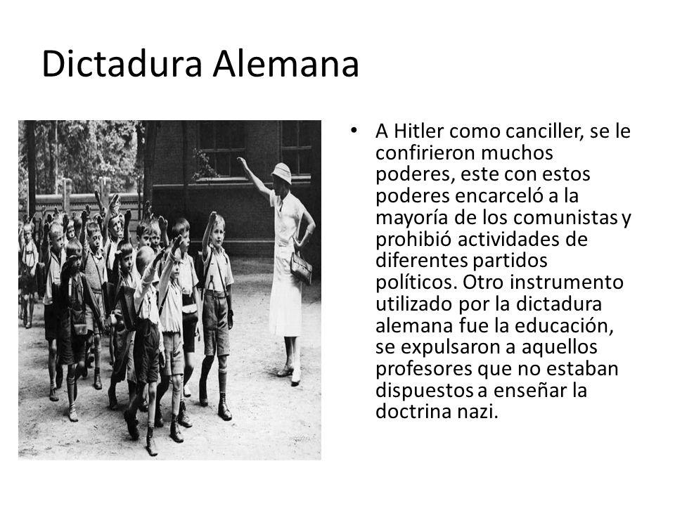 Dictadura Alemana
