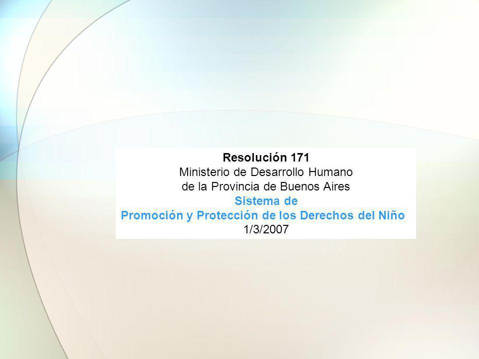 Promoción y Protección de los Derechos del Niño