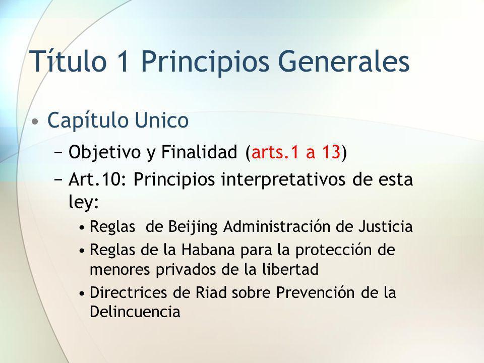 Título 1 Principios Generales