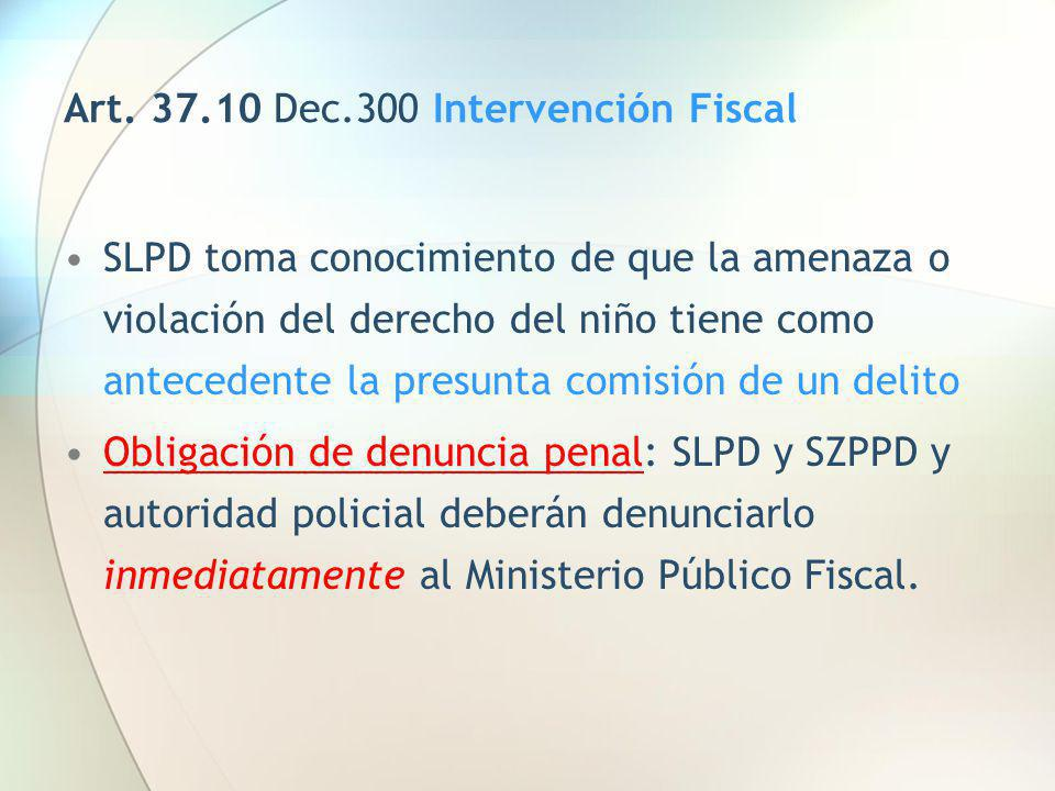 Art. 37.10 Dec.300 Intervención Fiscal