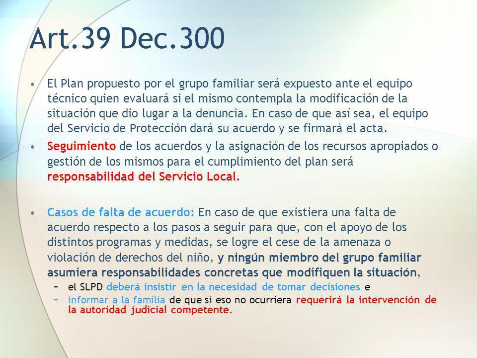 Art.39 Dec.300
