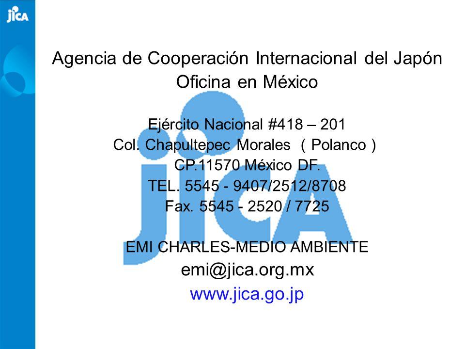 Agencia de Cooperación Internacional del Japón Oficina en México