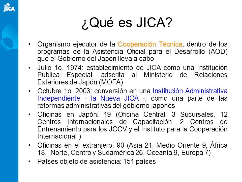 ¿Qué es JICA