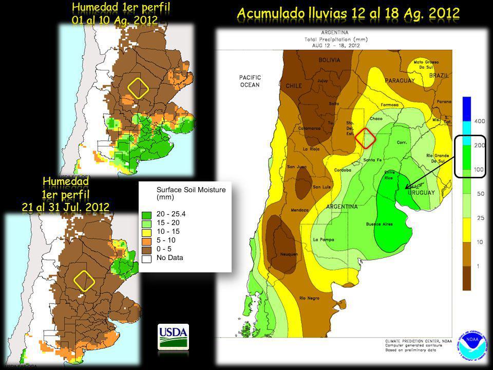 Acumulado lluvias 12 al 18 Ag. 2012