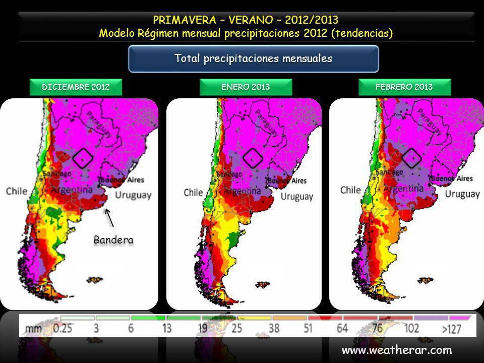 www.weatherar.com PRIMAVERA – VERANO – 2012/2013