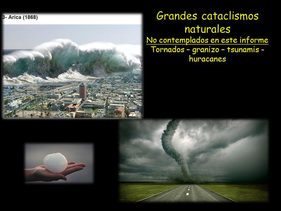 Grandes cataclismos naturales