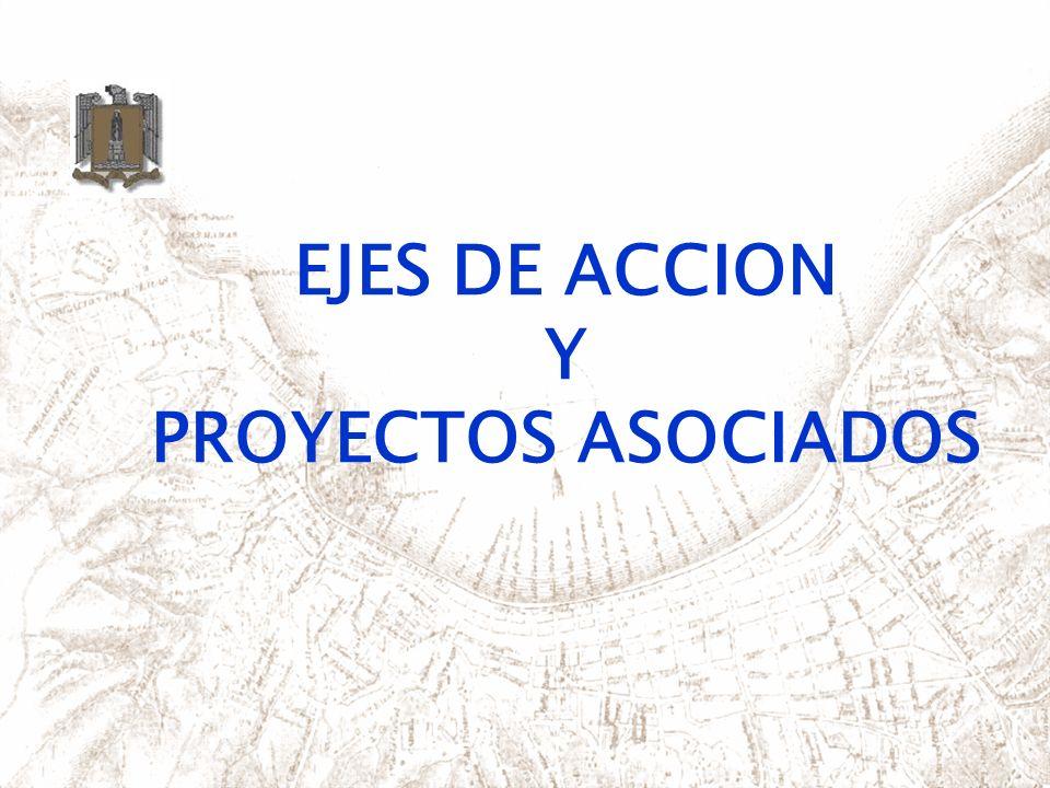 EJES DE ACCION Y PROYECTOS ASOCIADOS