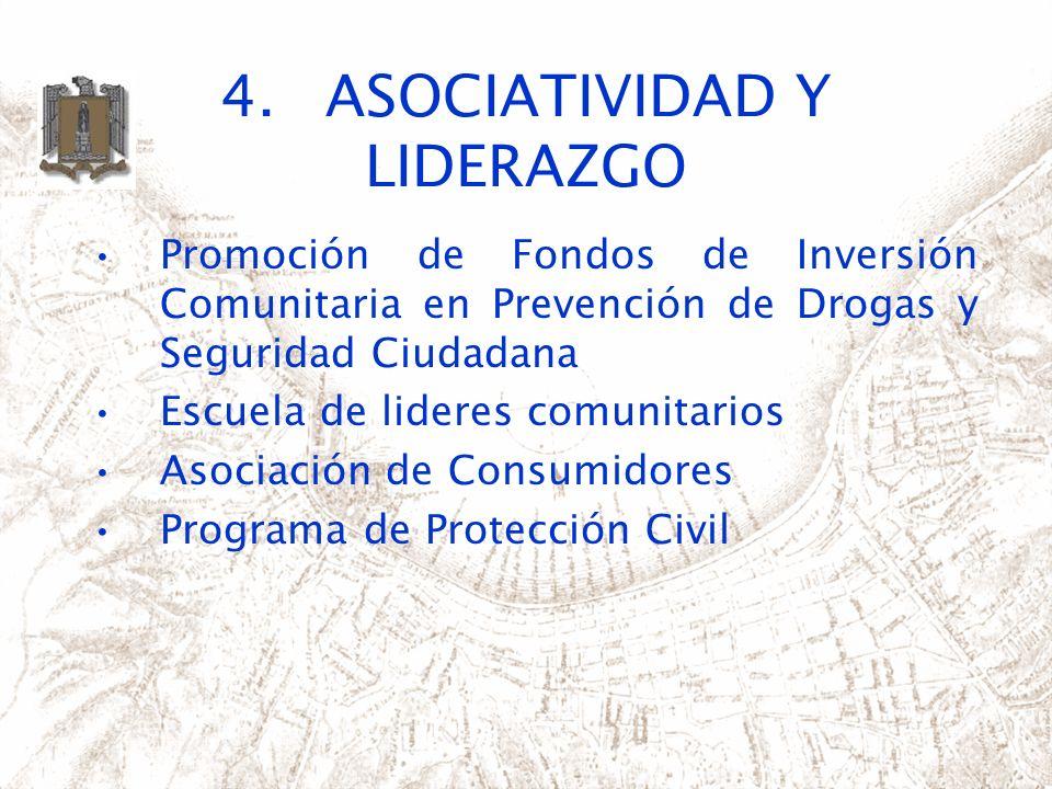 4. ASOCIATIVIDAD Y LIDERAZGO