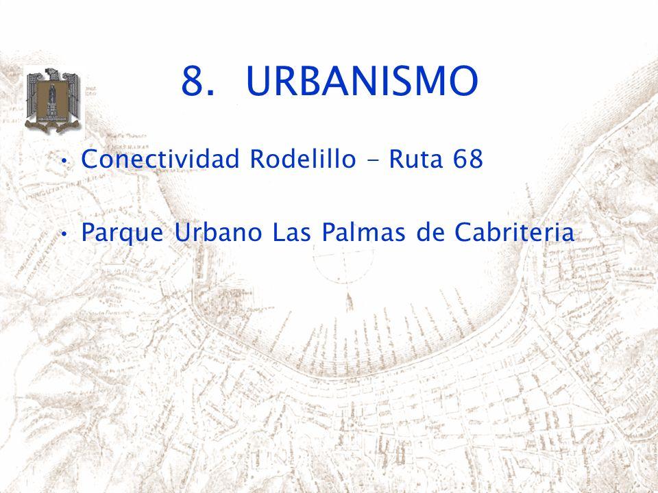 8. URBANISMO Conectividad Rodelillo - Ruta 68