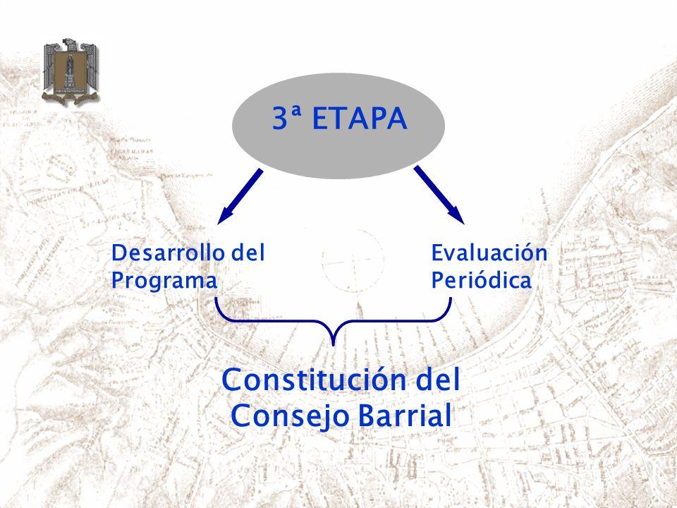 Constitución del Consejo Barrial