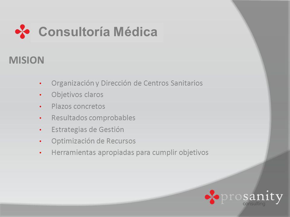 Consultoría Médica MISION