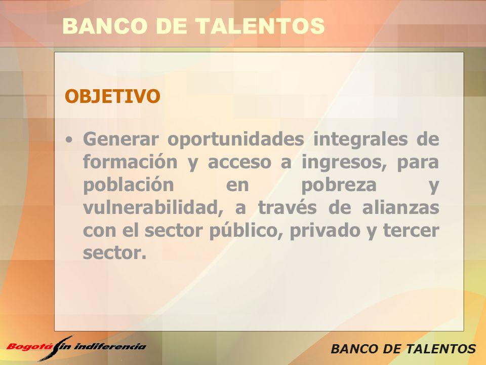 BANCO DE TALENTOS OBJETIVO