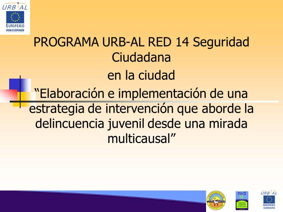 PROGRAMA URB-AL RED 14 Seguridad Ciudadana