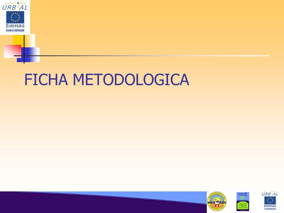 FICHA METODOLOGICA