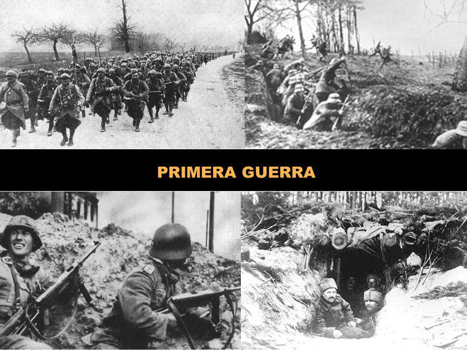PRIMERA GUERRA