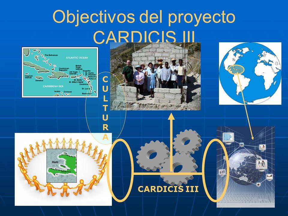 Objectivos del proyecto CARDICIS III