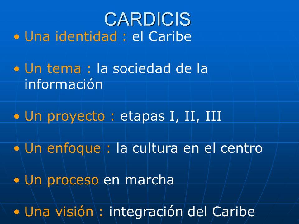 CARDICIS Una identidad : el Caribe