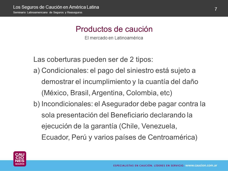 El mercado en Latinoamérica