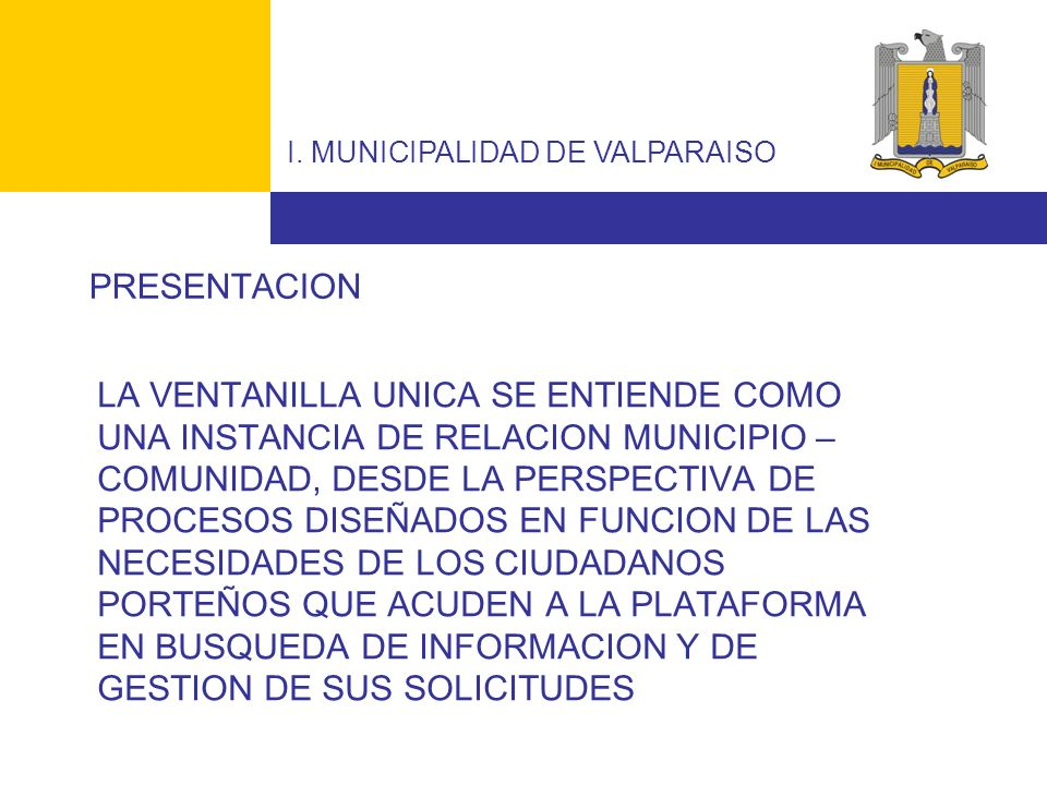 I. MUNICIPALIDAD DE VALPARAISO