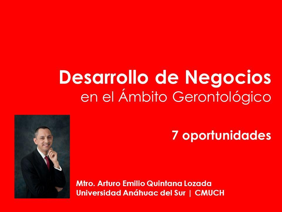 Desarrollo de Negocios en el Ámbito Gerontológico 7 oportunidades
