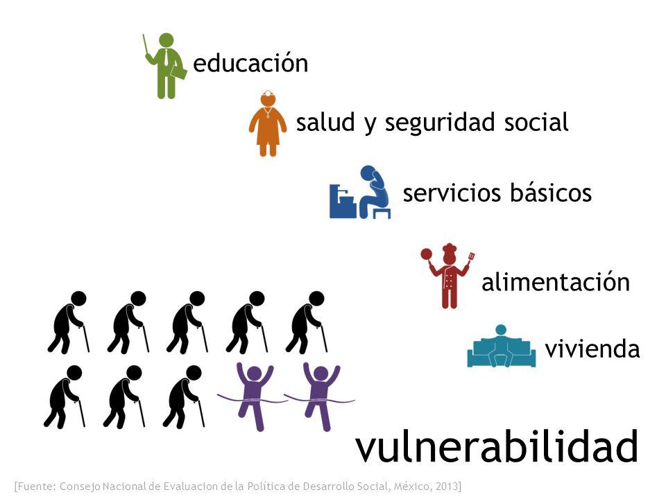 vulnerabilidad educación salud y seguridad social servicios básicos